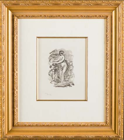 """Renoir """"Femme au cep de vigne"""""""