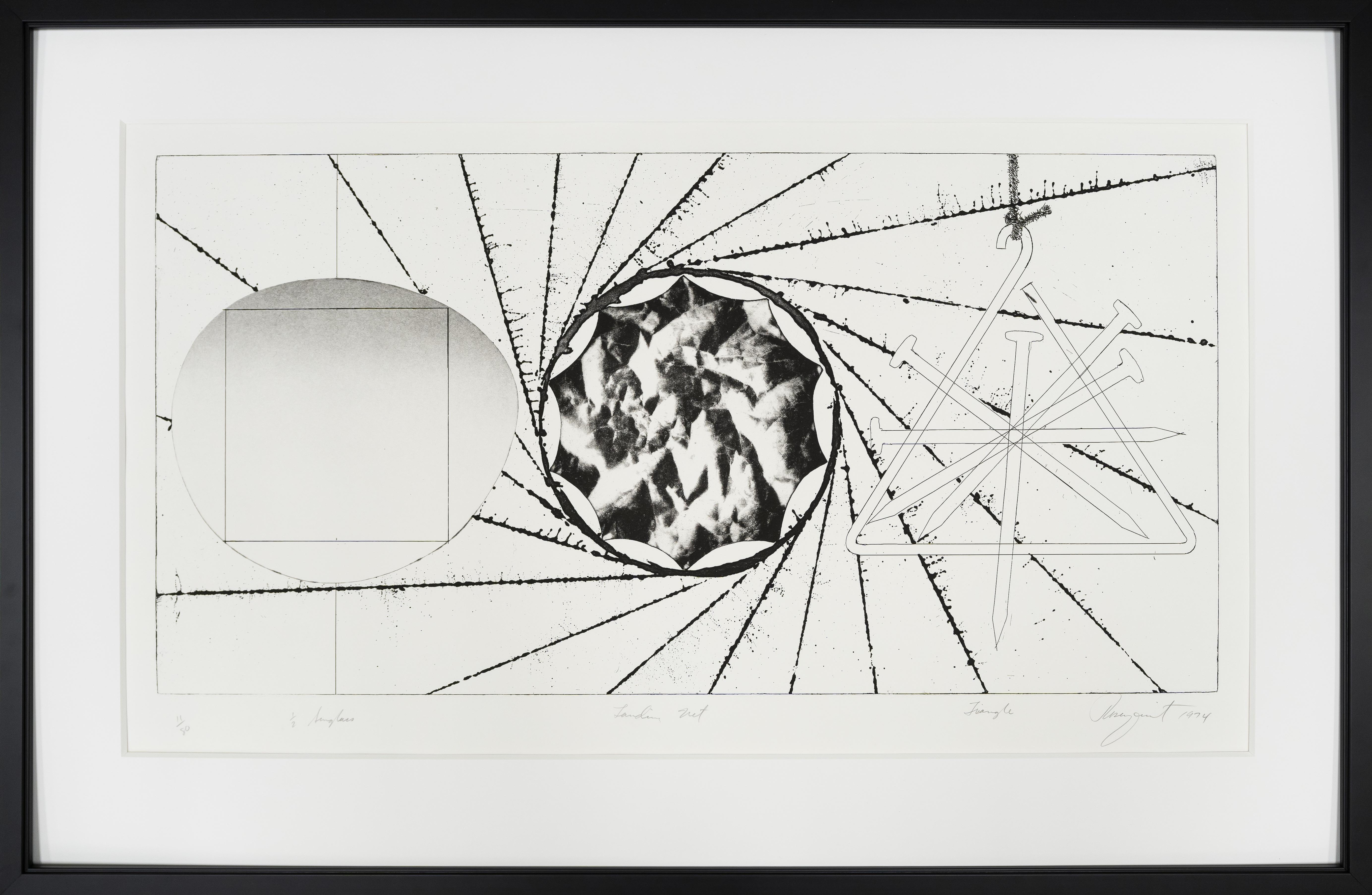 """Rosenquist """"Sunglass Lens"""""""