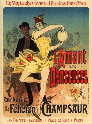 """Cheret """"Lamant des Danseuses"""""""