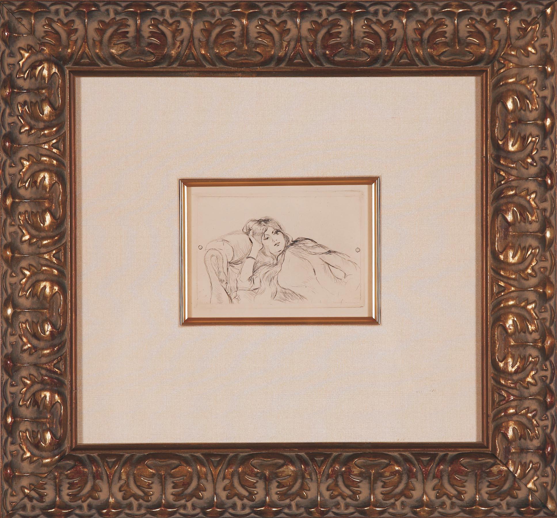 """Morisot """"Jeune Fille au Repose"""""""