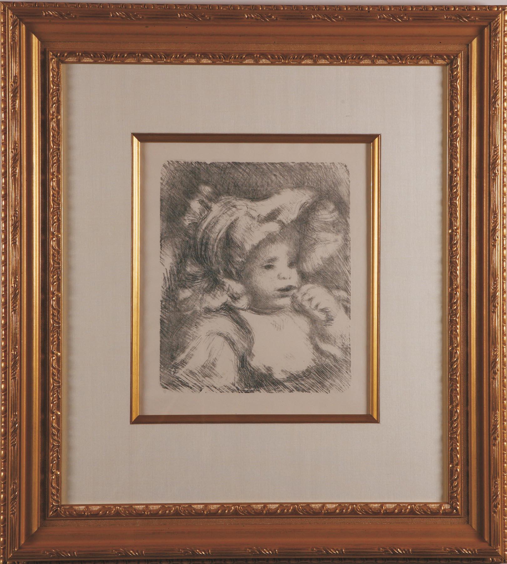 """Renoir """"L'enfant au Biscuit"""""""