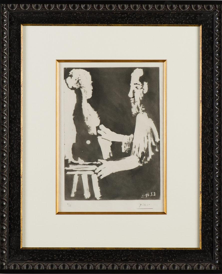 """Picasso """"Sculpteur de Travail"""""""