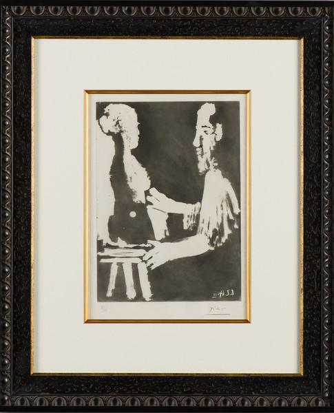 """Picasso """"Sculpteur et Travail"""""""