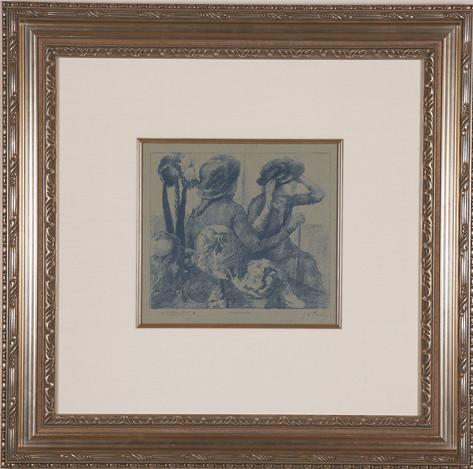 """Degas """"Chez la Modiste"""""""