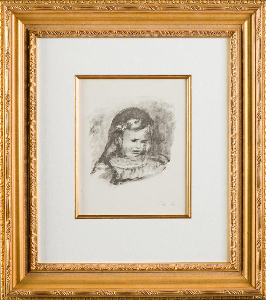Renoir Claude Renoir la Tete Baisee