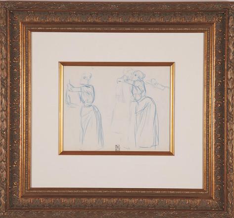"Steinlen ""Untitled Drawing"""