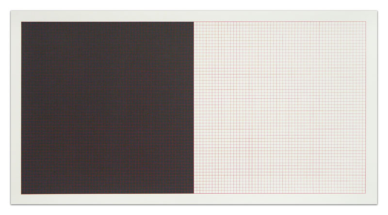 Sol Lewitt Grids and Color Plate 15