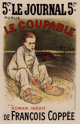 "Steinlen ""Coupable"""