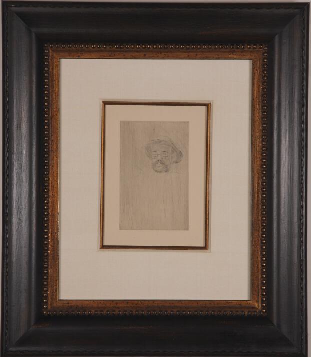 """Lautrec """"Portrait of Henry Somm"""""""