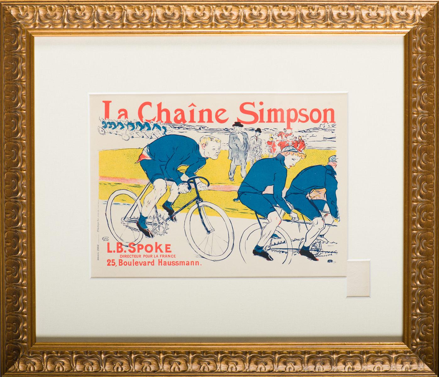 "Lautrec ""La Chaine Simpson"""
