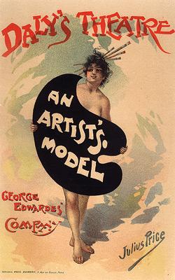 "Price ""An Artist's Model"""