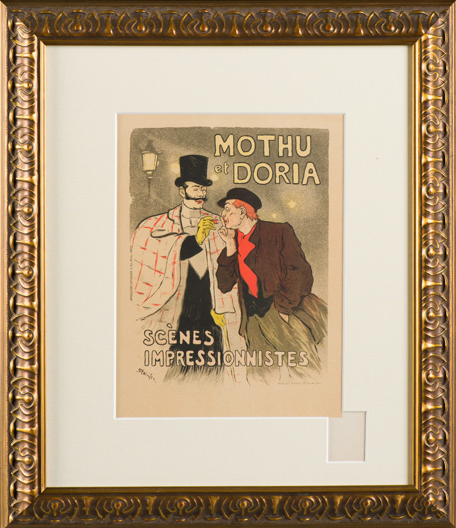 "Steinlen ""Mothu and Doria"""