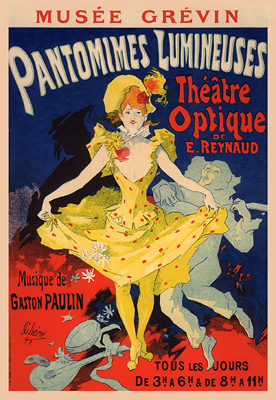 "Cheret ""Pantomimes Lumineuses"""