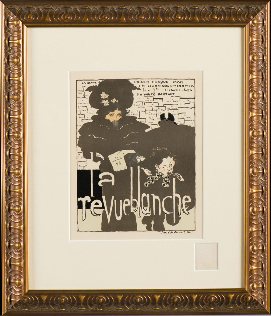 "Bonnard ""La Revue Blanche"""