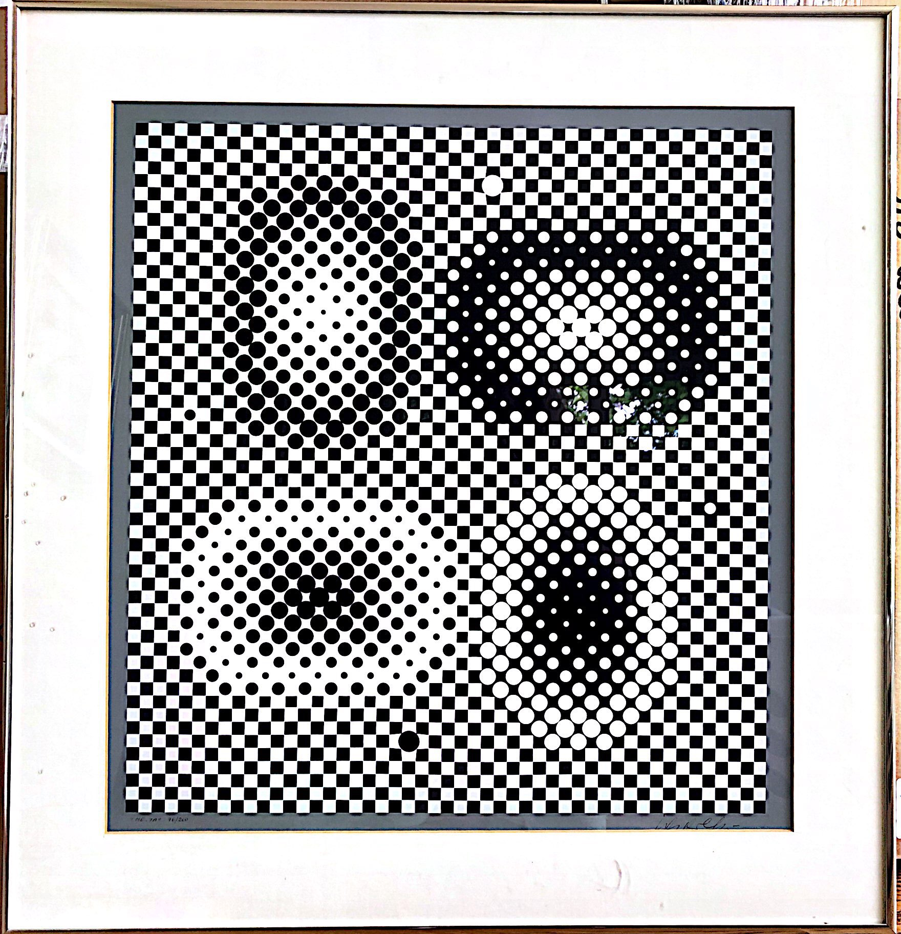"2183 Vasarely ""ME-TA from Bach"""