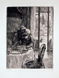 "Tissot ""Renee Hugging her Father"""