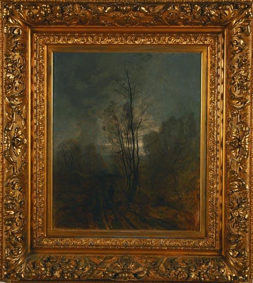 """Harpignies """"Landscape at Twilight"""""""