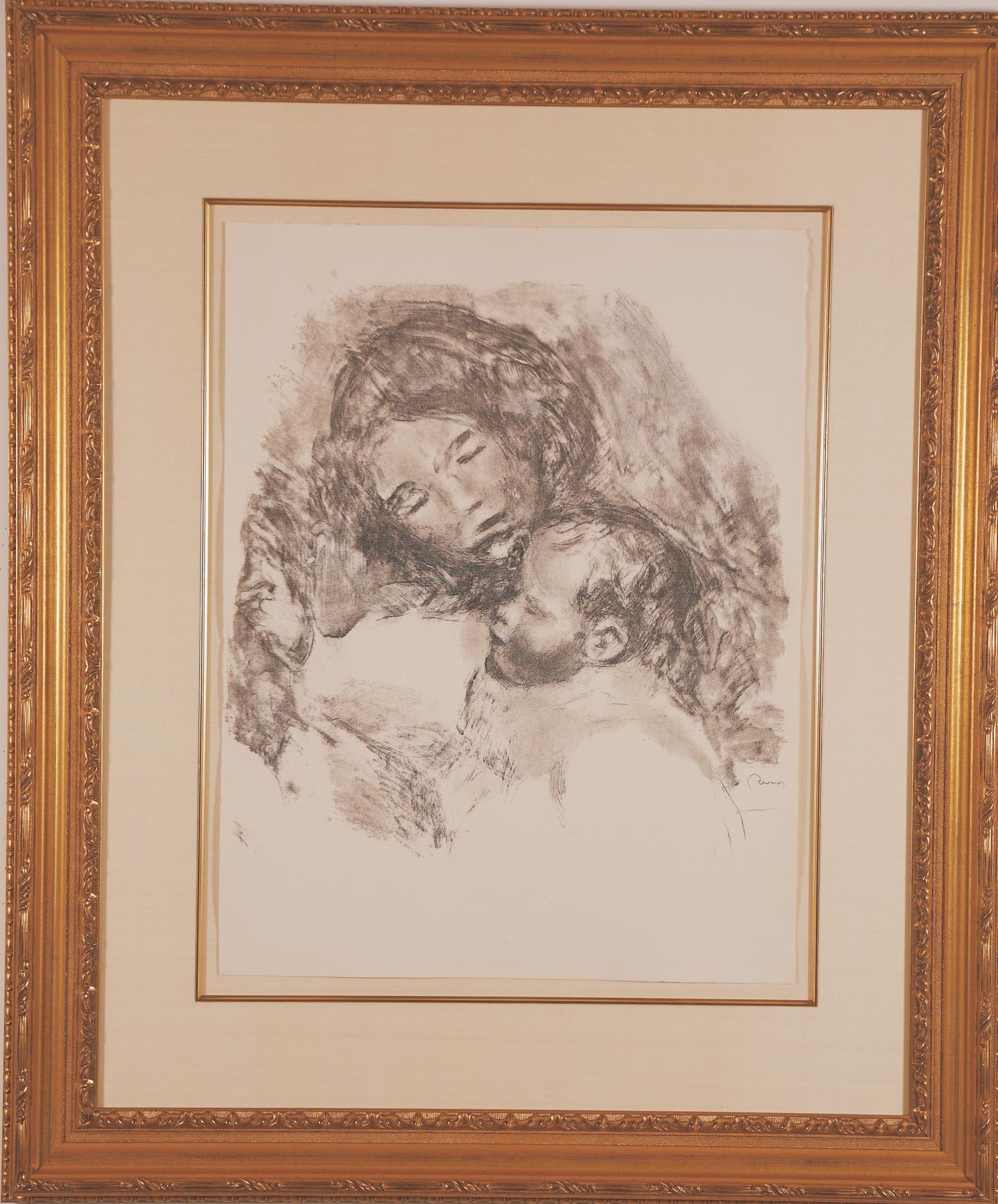 """Renoir """"Maternite Grand Planche"""""""