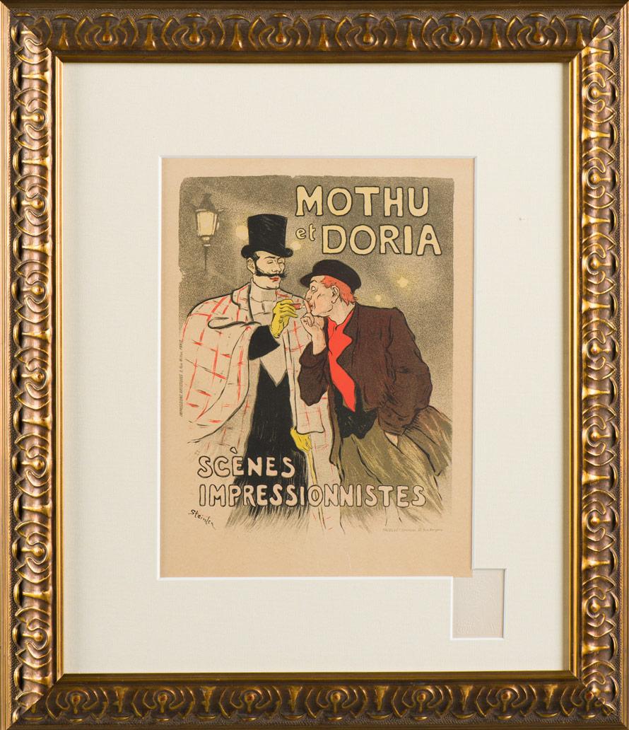 """Steinlen """"Mothu and Doria"""""""