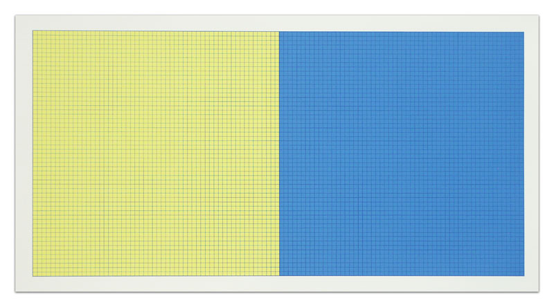 Sol LeWitt Grids and Color Plate 42