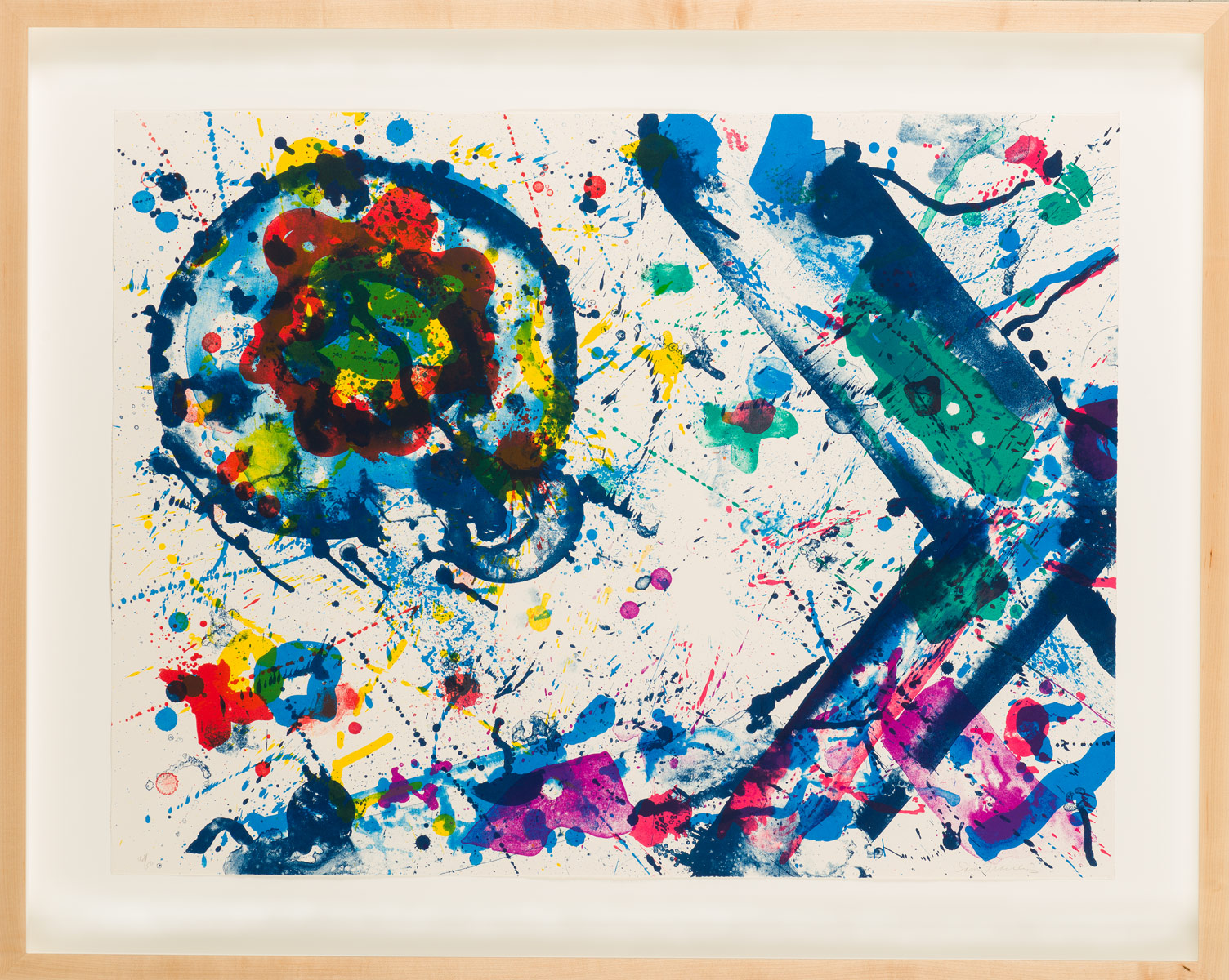 "Sam Francis ""Untitled"""