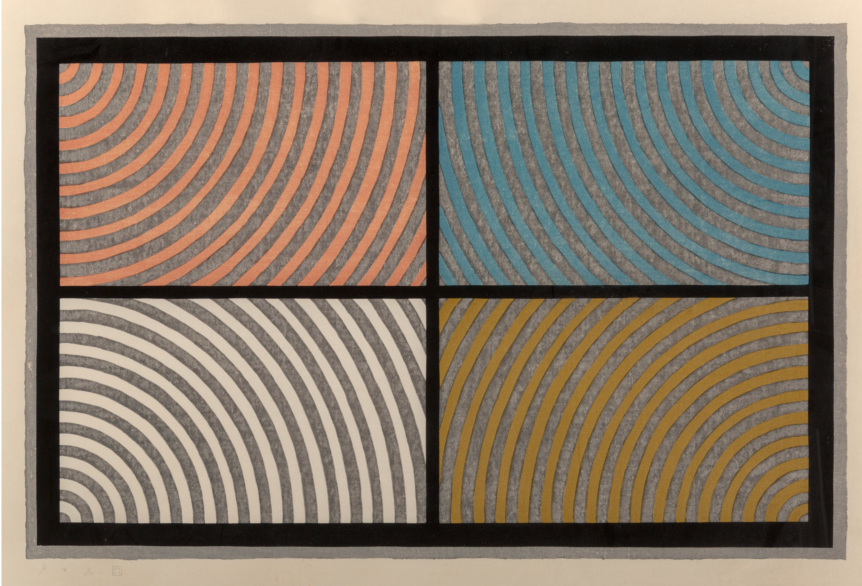 2186 Lewitt Arcs from Four Corners