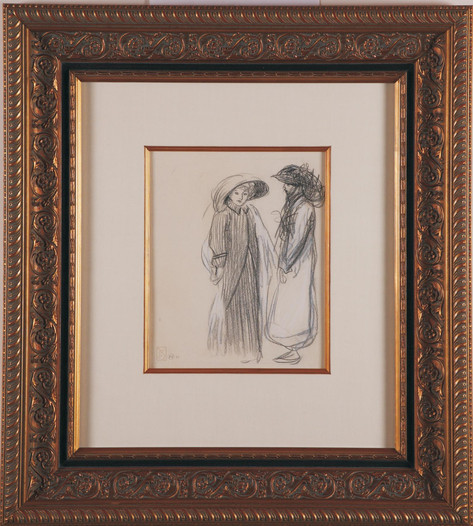 "Steinlen ""Untitled Drawing"""
