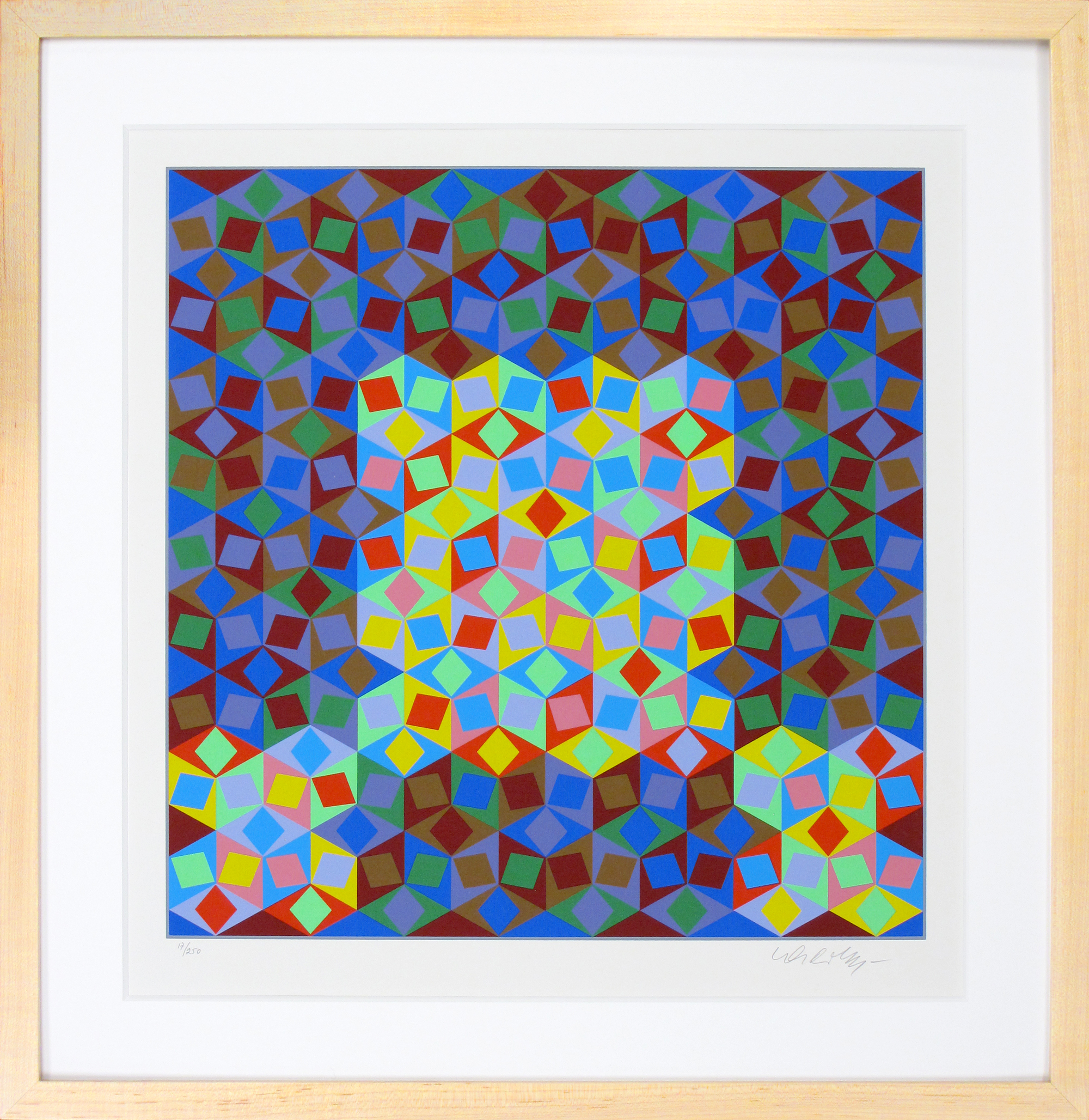 "Vasarely ""Lonsanges Colores"""