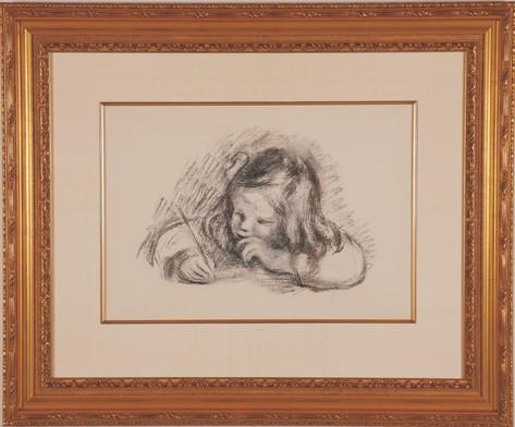 """Renoir """"Le Petit Garcon au Port Plume"""""""