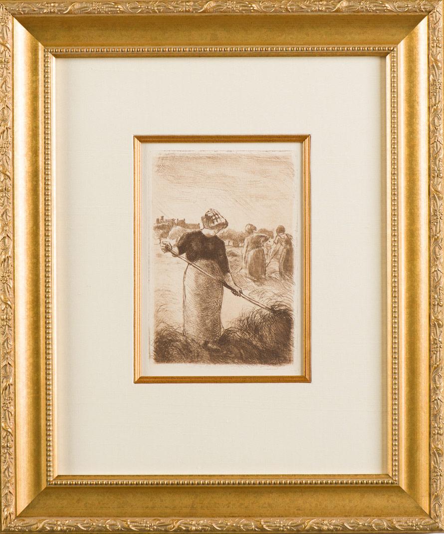 "Pissarro ""Les Faneuses"""