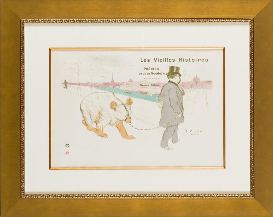 """Lautrec """"Les Vieilles Histoires"""""""