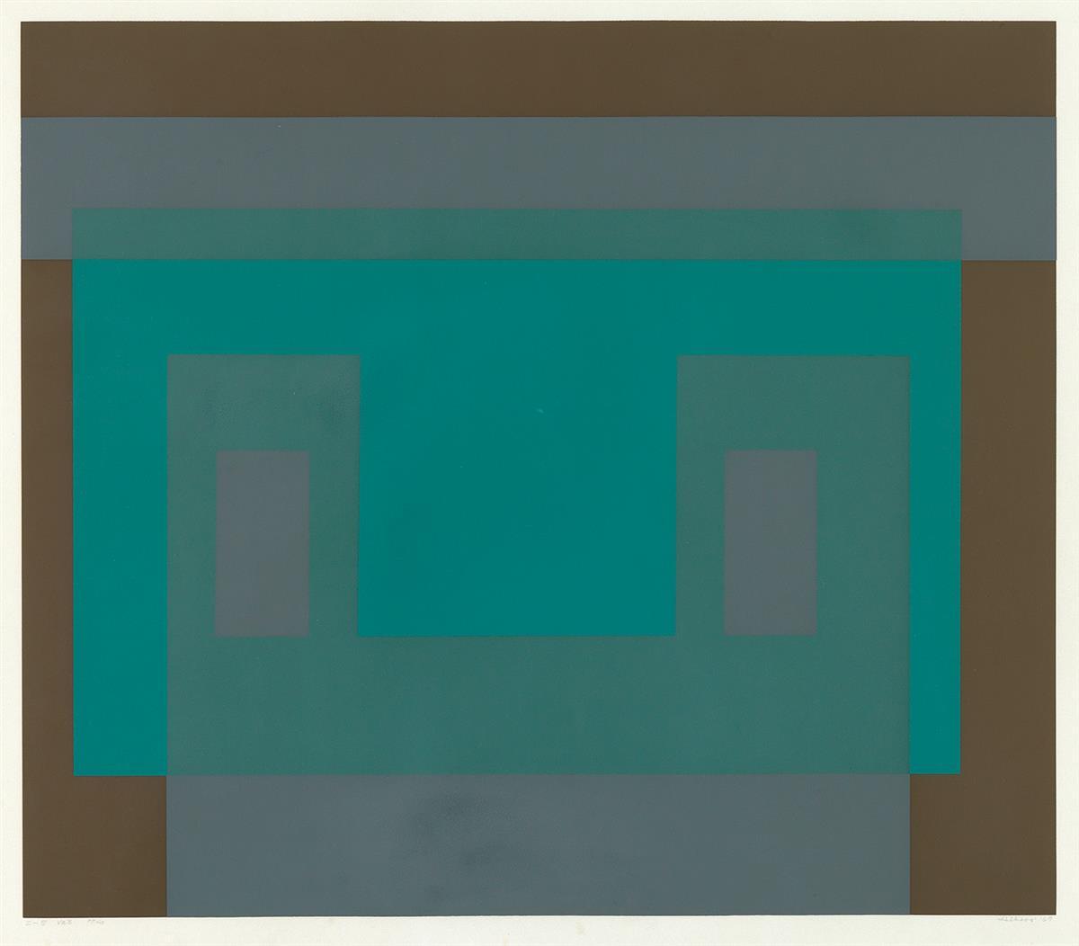 """Josef Albers """"I-S Va 3"""""""