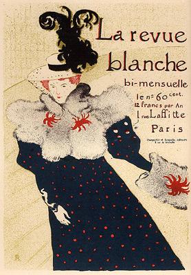 """Toulouse-Lautrec """"La Revue Blanche"""""""