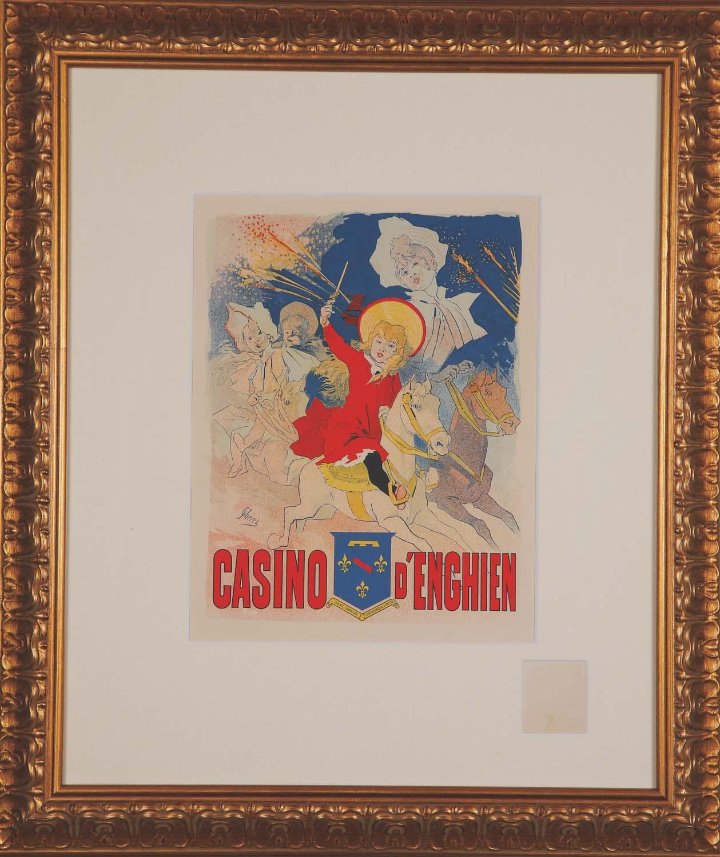 """Cheret """"Casino d'Enghein"""""""