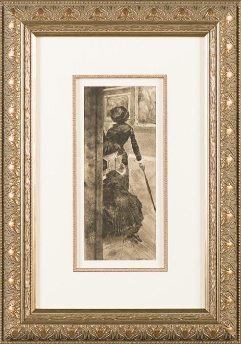 """Degas """"Mary Cassatt at the Louvre"""""""