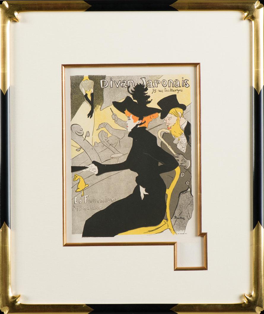 """Lautrec """"Divan Japonais"""""""
