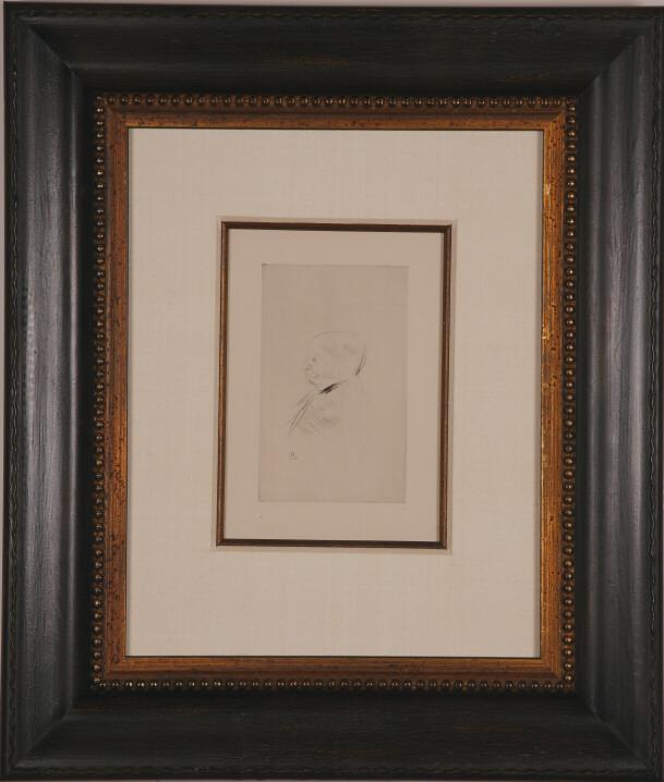 """Lautrec """"Portrait of Monsieur X"""""""