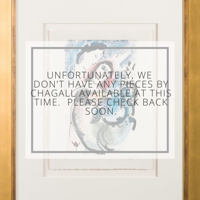 Out of Stock Chagall