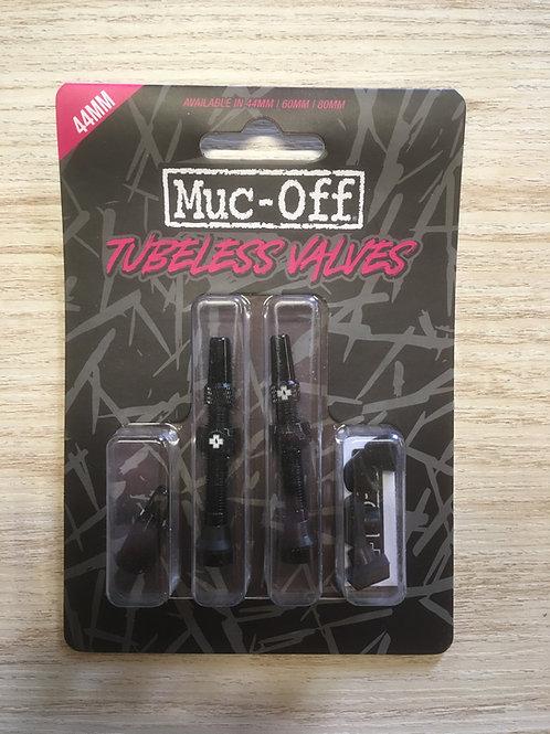 Muc Off Tubless Valves 44mm black
