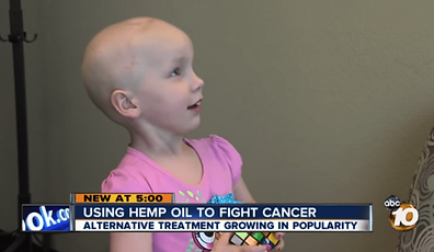 little girl with cancer on abc news