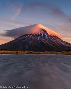 Mt Taranaki on Fire-9867