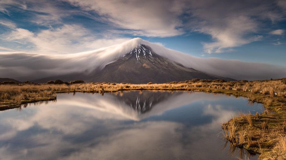 Mt Taranaki Cloud