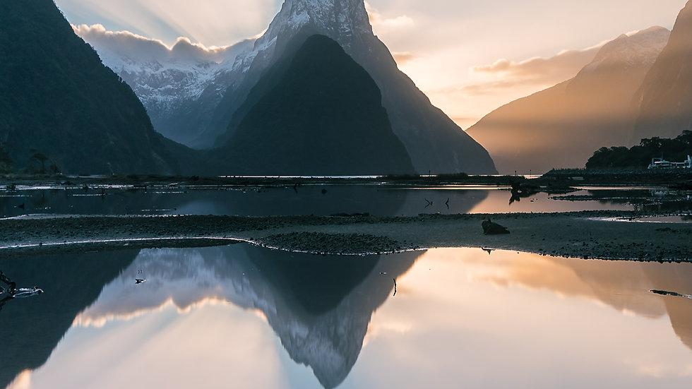 Mitre Peak Blue Rays