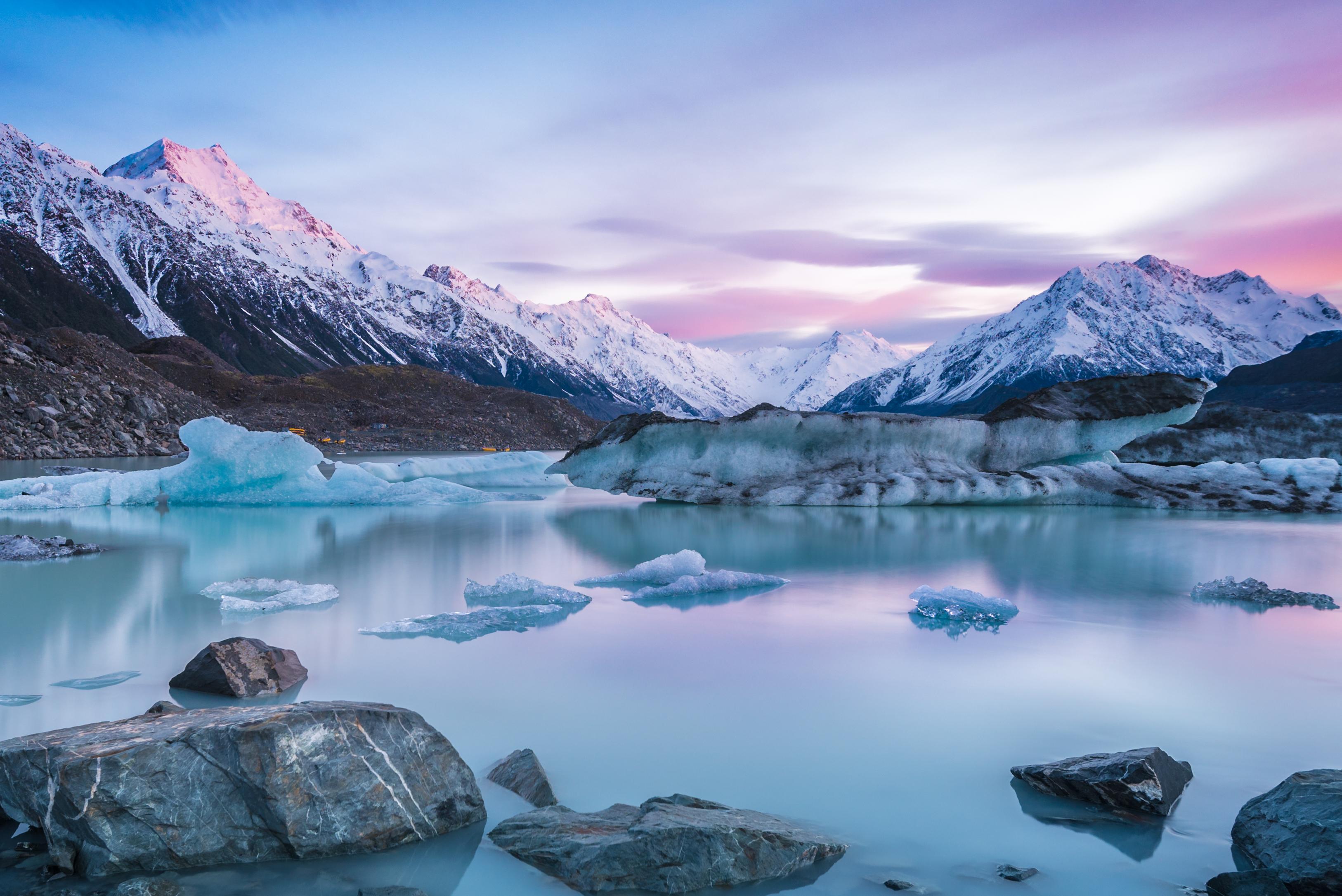 Tasman Glacier Lake1924