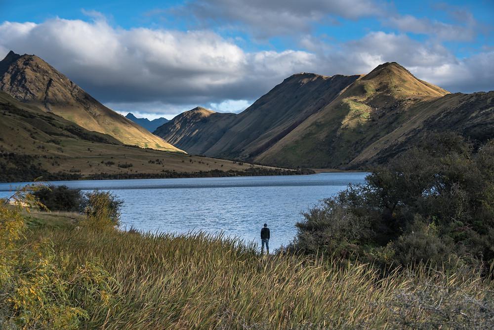 Those magic moments at Moke Lake ISO250, f10, 1/1000sec