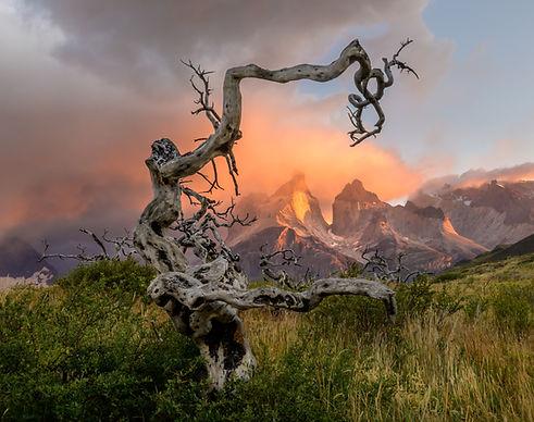 Torres del Paine, Chile Sunrise-0848-3.j