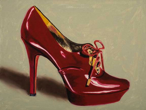 Ruby Slipper 3 - Limited Edition Giclée Print on Canvas