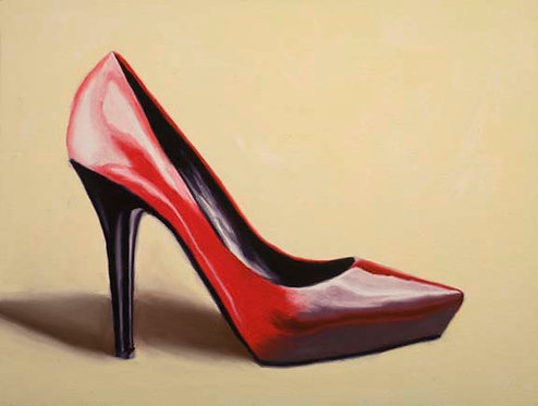 Ruby Slipper 1 - Limited Edition Giclée Print on Canvas