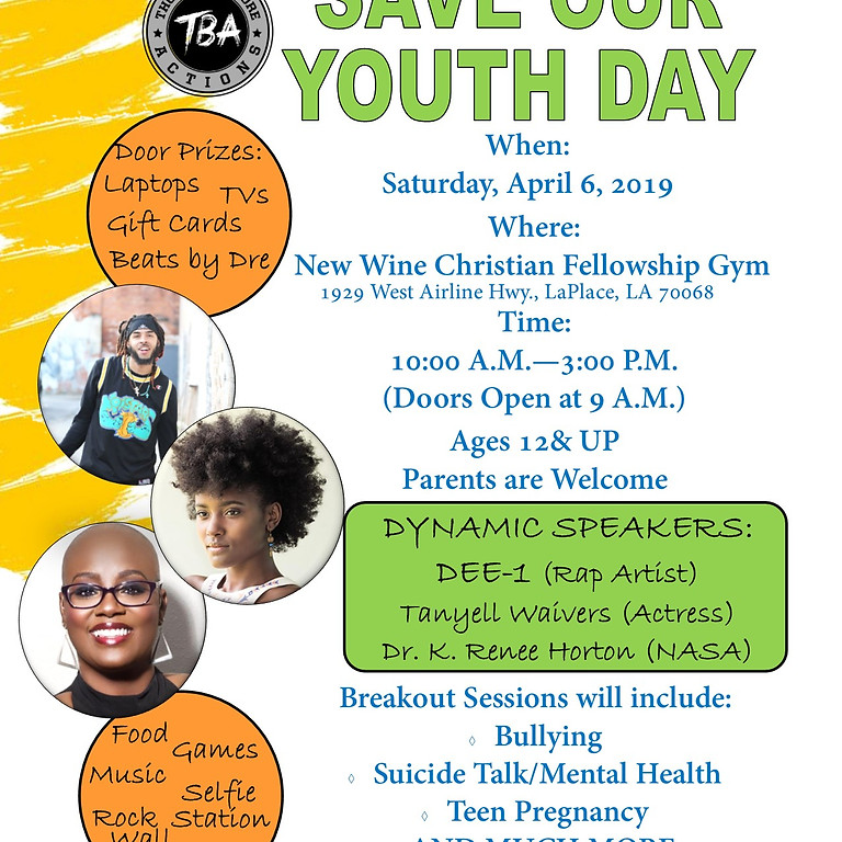 Save Our Youth Day