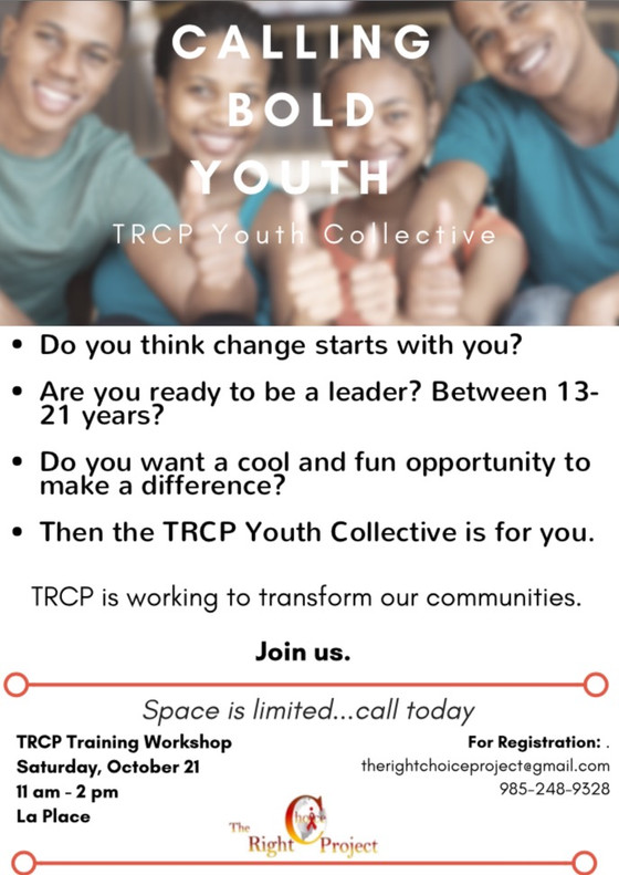 CALLING BOLD YOUTH